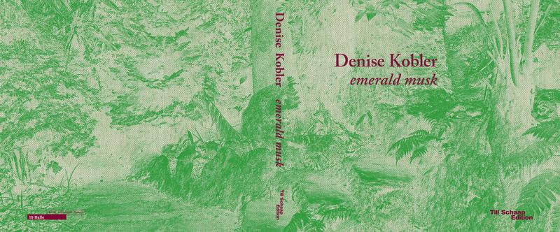 Cover Künstlerbuch Denise Kobler, Till Schaap Edition 2019. Leineneinband mit Siebdruck. Herausgeberin: IG Halle Rapperswil.