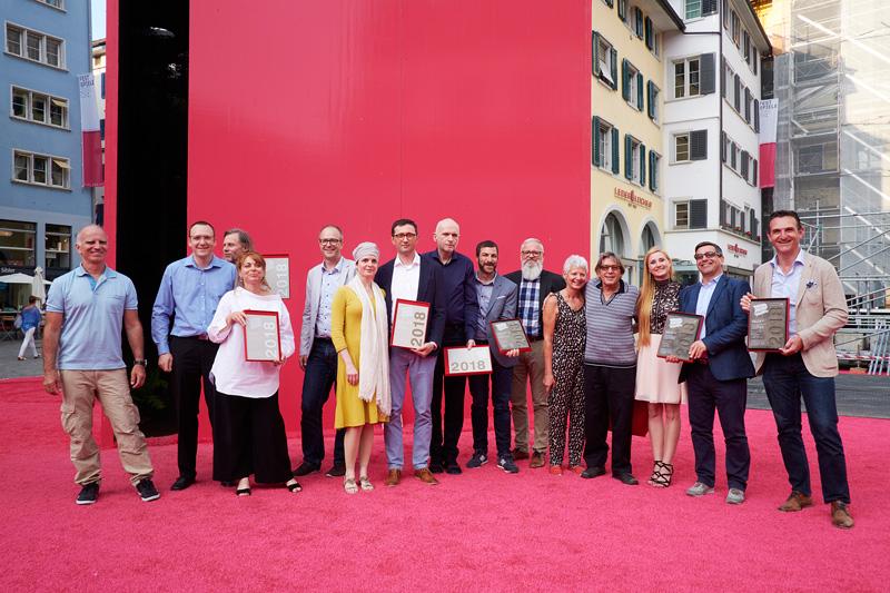 Swiss Print Award 2018 für bestes Buchdesign